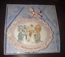 Precious Moments Wedding Collectible My Cherished Parents Ornament Enesco
