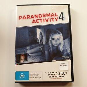 Paranormal Activity 4 | DVD | Horror | 2012 | Katie Featherston, Kathryn Newton