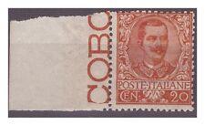 REGNO 1901  - FLOREALE  - 20  Cent NUOVO  **  BDF