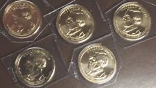 2013 D Wilson Dollars from Mint Sets x 5