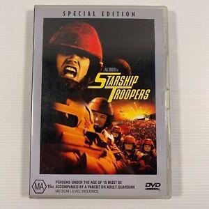 Starship Troopers (DVD 2001)1997 film Denise Richards Patrick Muldoon Region 4