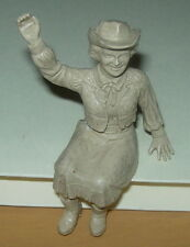 IDEAL  ROY ROGERS  STAGE COACH  WAGON  DALE EVANS  RUBBER FIGURE ONLY C 1950'S