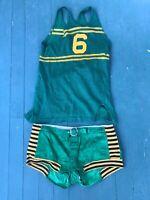 Honus Wagner Baseball Basketball Antique Uniform Jersey Shorts 36