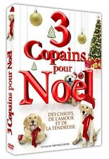 DVD neuf _3 COPAINS POUR NOEL_ COMEDIE Chiens