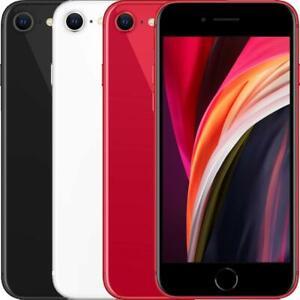 Apple iPhone SE 2nd Gen (2020) 64/128/256GB Unlocked Black,White,Red GREAT PRICE