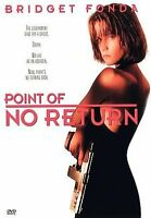 POINT OF NO RETURN BRIDGET FONDA  SNAPCASE (1998) DVD