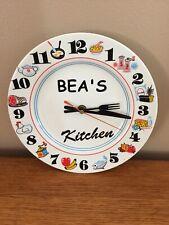 Bea's Kitchen Clock