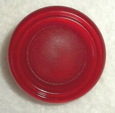 Vintage Large Chunky Cherry Red BAKELITE Shank Button - MINT