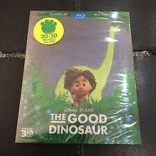 The Good Dinosaur 3D+2D Blu-ray SteelBook w/ PET Slip   Korean exclusive Disney
