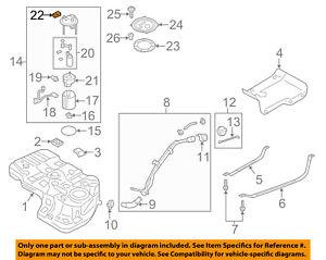 HYUNDAI OEM Sonata Vapor Canister-Fuel Tank Pressure Boost Sensor 314352J000