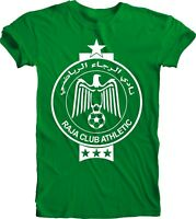 Raja Club Athletic Casablanca Morocco Tee T Shirt Handmade Unisex Team Sports