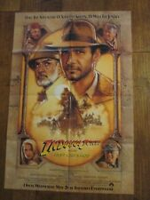Indiana Jones And Last Crusade - 1989 1sheet Movie Poster - Ford - Spielberg