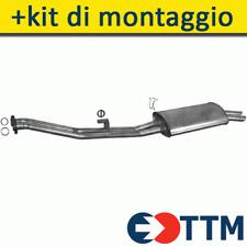 BMW 3 E30 2.0 2.5 2.7 129/171HP 1985-1993 Silenziatore Marmitta Posteriore+