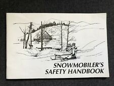 Sweet Snowmobiler'S Safety Handbook 2000