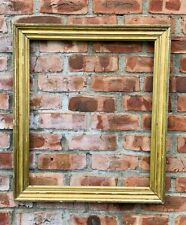 "19th Century American Lemon Gilded Picture Frame For 24"" X 20"" Picture Or Mirror"
