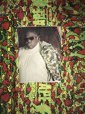 100% Authentic Bape X Biggie Smalls iconic photo t shirt size Large RARE OG Nigo