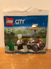 Brand NewLEGO 30356 City Hot Dog Stand Polybag Sealed Limited Set with chef