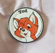 Disney Robertson's Jam Jar Lid 1981 The Fox & The Hound promotion Todd