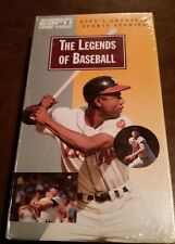 "FACTORY SEALED ESPN'S ""THE LEGENDS OF BASEBALL"" VHS NARRATED BY ROY FIRESTONE"