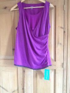 Reebok shapewear top size10/12