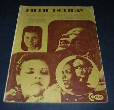 Billie Holiday Anthology/Lady Sings the Blues Softcover First Printing 1976
