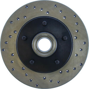 StopTech Drilled Sport Brake Rotor - st128.62002L
