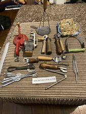 More details for large joblot of 1930s 1940s vintage kitchenaila kitchen utensils collectable