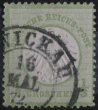 GERMANY #2: Fine Used early issue from the German Empire - Imperial Eagle