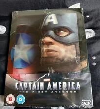 Captain America The First Avenger Zavvi UK lenticular steelbook, New and sealed