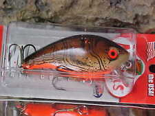Mann's Mid 1-  Minus Shallow Running Crankbait Lure SB333 Color BROWN CRAWFISH