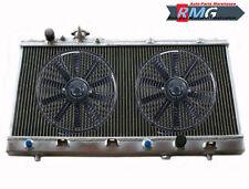 2Row ALUMINUM RADIATOR FOR 1999-2003 MAZDA PROTEGE/PROTEGE5 2000 2001 2002 +Fan