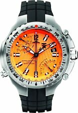 Timex TX Men's Flyback Chronograph Dual Time Compass Pilot Diver Watch - H2Z431