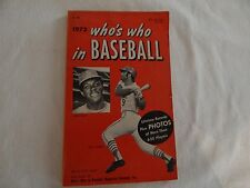 1972 Who's Who In Baseball GOOD CONDITION! PRICED RIGHT!