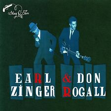 Earl & Rogall, Don ZINGER-In The Backroom CD NUOVO