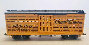 LGB 4168 US Güterwagen Verschlagwagen White Pass & Yukon GELB - SELTEN!