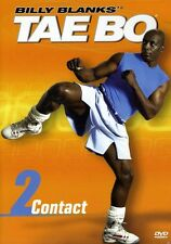 Billy Blanks' Tae Bo: Contact 2 (2004, DVD New) CLR