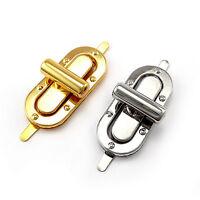 Craft Case Clasp Heart shaped Turnlock Bag Purse Belt Twist Lock Size 30 mm AQH
