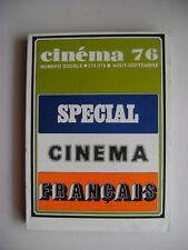 Cinéma n° 212/213 - 1976 - Spécial cinéma français