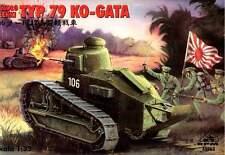 TYPE 79 KO-GATA JAPANESE ARMY TANK (JAPANESE FT 17) 1/35 RPM RARE!