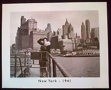 New york - 1941 40x50 cm art imprimé poster betty field
