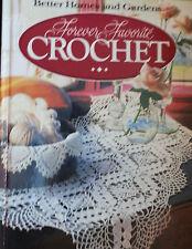 Forever Favorite Crochet Hard Cover Pattern Book 1984