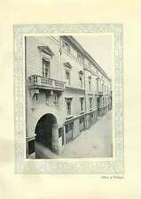1920 Italy Credito Italiano Office At Bologna