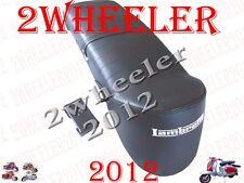 LAMBRETTA ANCILLOTTI STYLE BLACK SEAT LI/SX/GP/Sitzbank LAMBRETTA