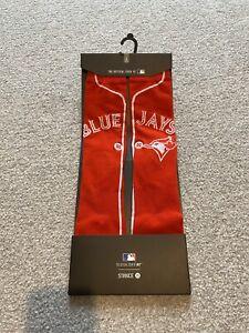 Toronto Blue Jays MLB Baseball Alternate Jersey Men's Stance Socks UK8.5-11.5 L