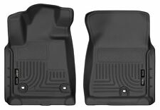 Husky Liners Weatherbeater FRONT Floor Mats for 2012-2018 Toyota Tundra (BLACK)