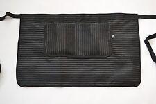 Kellnerschürze Kochschürze schwarz mit Taschen Barschürze Vorbinder Schürze