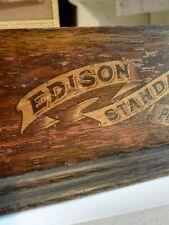 """Edison ""    Phonograph , Gehäuse ,  Uralt !!"