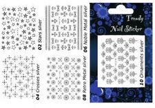 Nail-Art-Sticker aus Metall