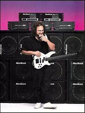 Michael Anthony (Van Halen, Chickenfoot) Mesa Boogie Bass guitar amp 8 x 11 ad
