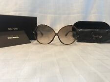 Tom Ford Nicole FT164 Sunglasses - 48F Translucent Brown (Brown Gradient Lens)